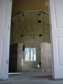 Custom shower bismarck nd