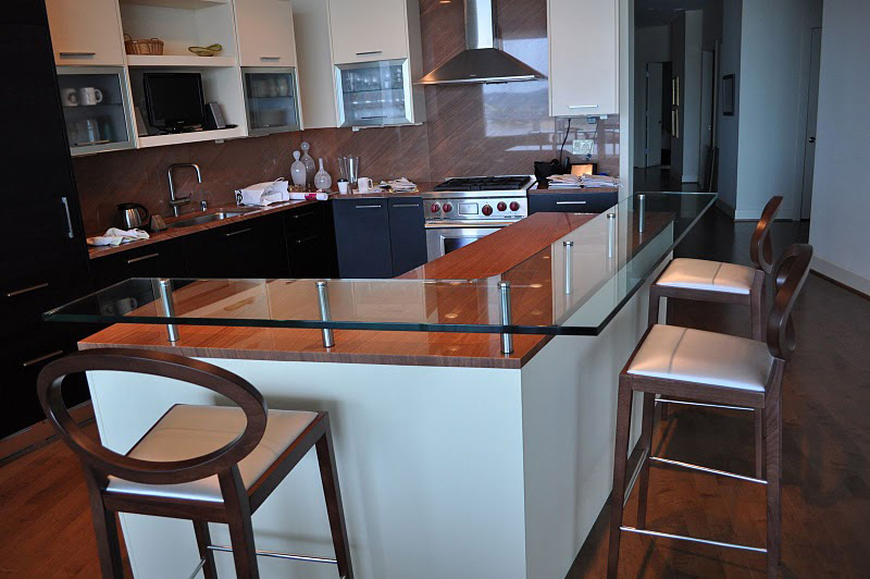 Customize your bar with a glass countertop - Haider Glass ...